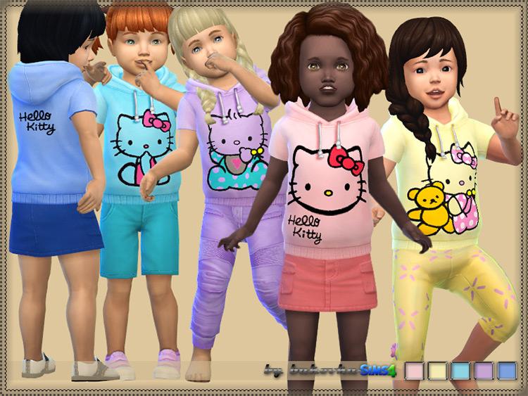 Hoody Hello Kitty / Sims 4 CC