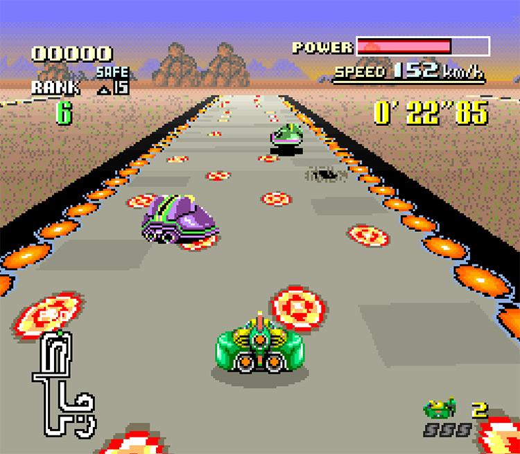 F-Zero: The Revenge Gameplay