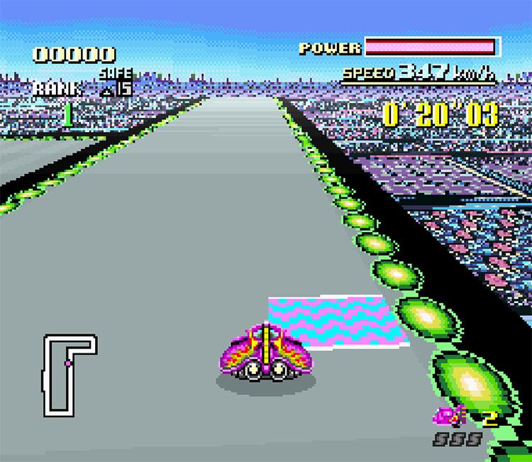 Axnfanatic's F-Zero Game screenshot
