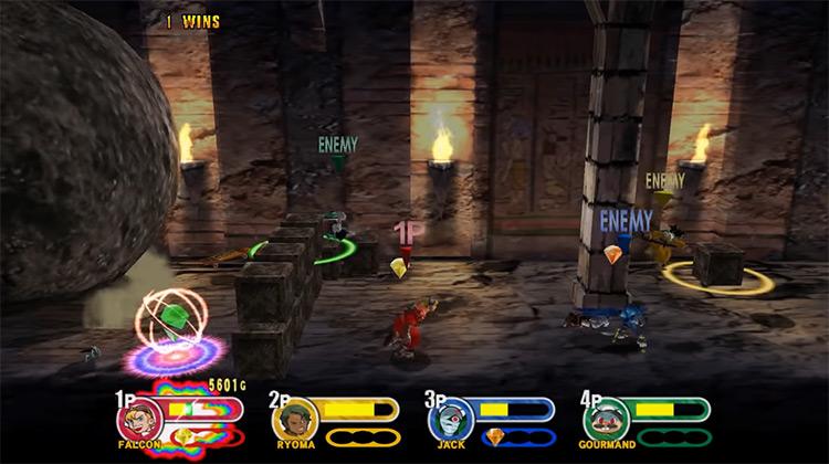 Power Stone 2 Dreamcast game screenshot