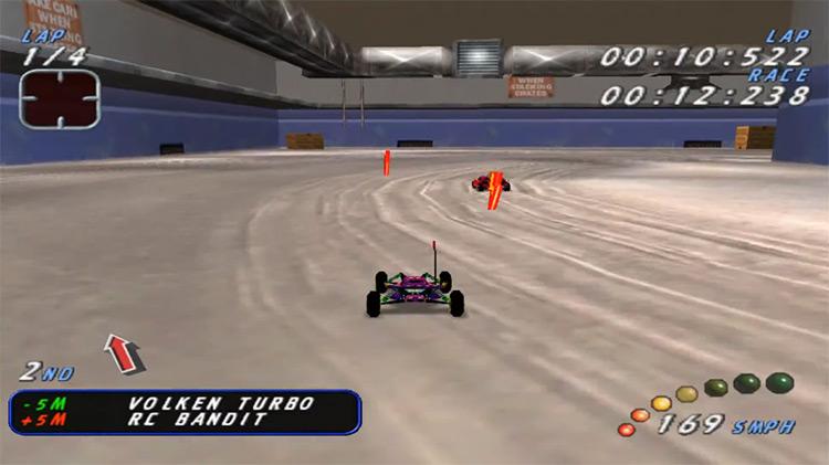 Re-Volt Dreamcast gameplay screenshot