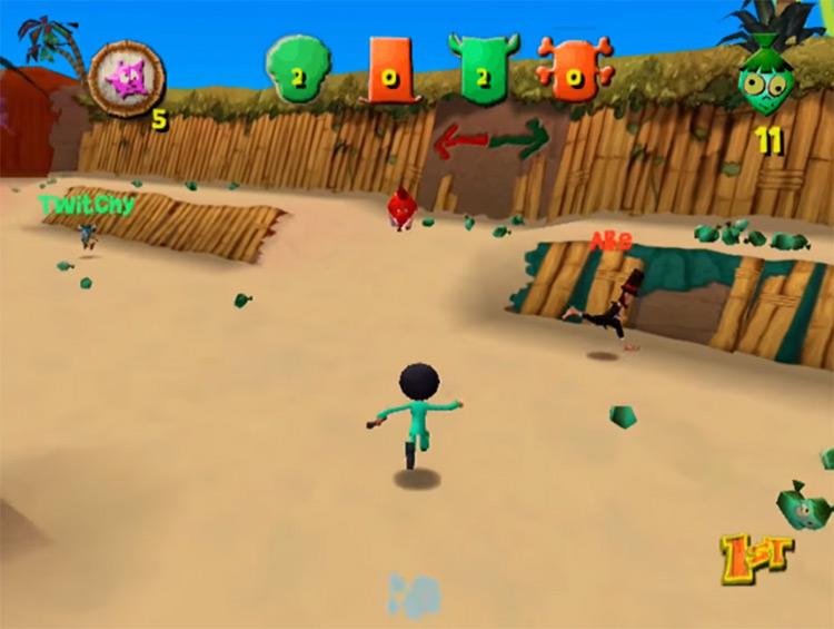 Ooga Booga gameplay Dreamcast