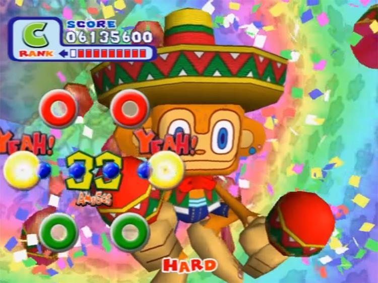 Samba de Amigo gameplay