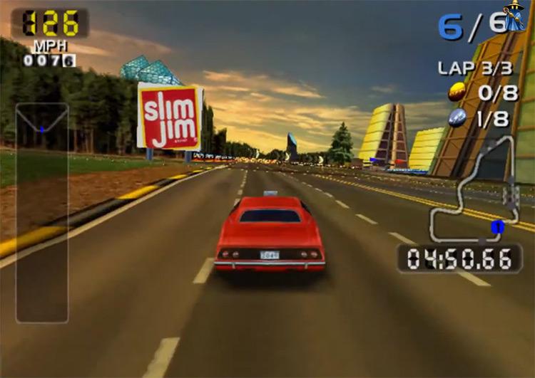 San Francisco Rush 2049 screenshot
