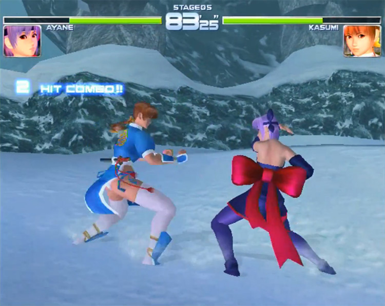Dead or Alive 2 Dreamcast gameplay