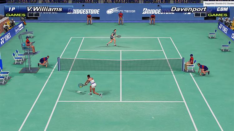 Tennis 2K2 Dreamcast game
