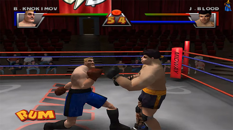 Ready to Rumble Boxing: Round 2 gameplay