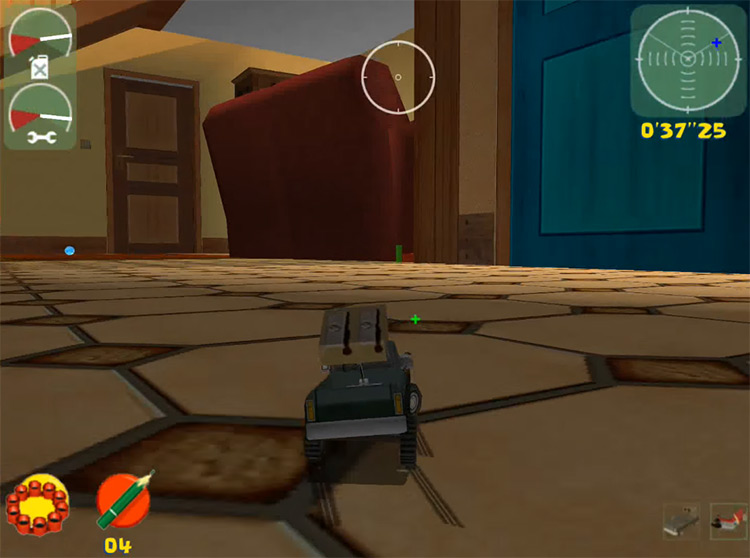 Toy Commander Dreamcast gameplay