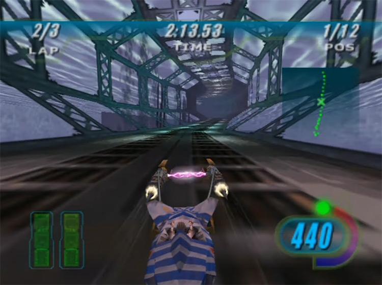 Star Wars Episode I Racer gameplay screenshot