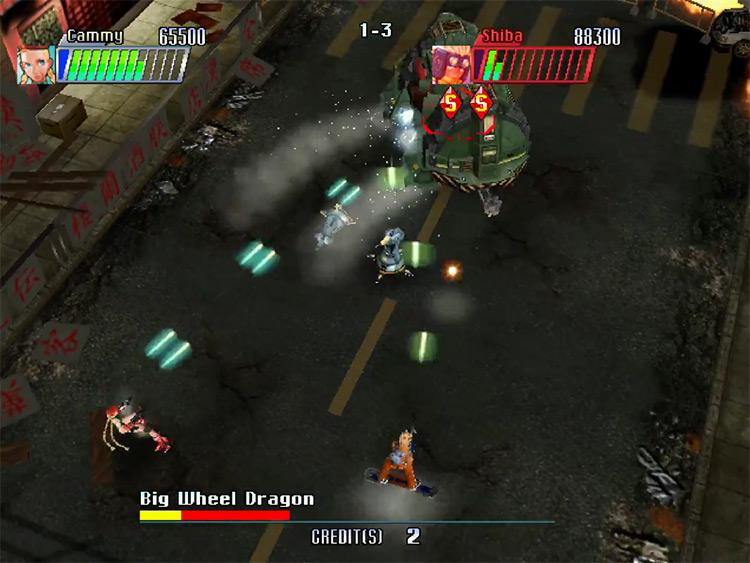 Cannon Spike gameplay screenshot