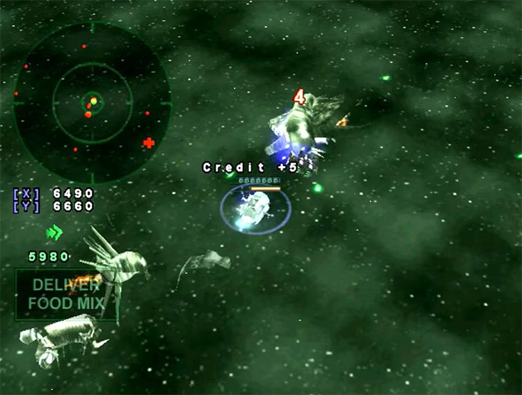 Armada Dreamcast game