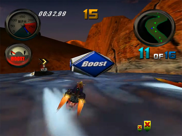 Hydro Thunder gameplay Dreamcast
