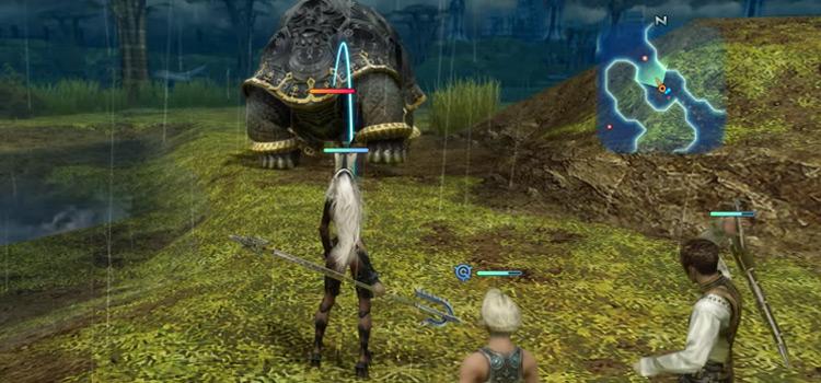 Silicon Tortoise in Giza Plains / FFXII Zodiac Age Screenshot