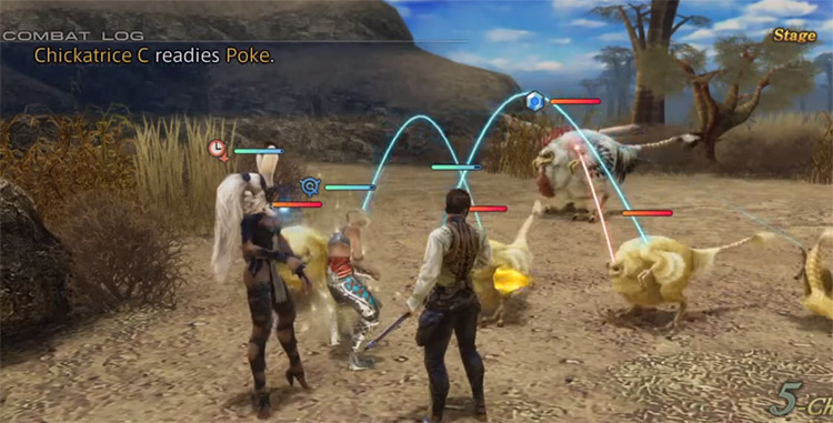 Trial Mode Chickatrice Battle in FF12 TZA