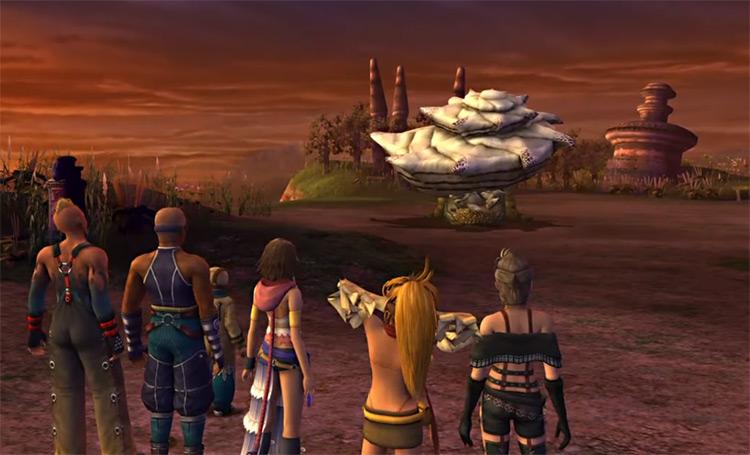 Shell Shocker HD Cutscene in Final Fantasy X-2