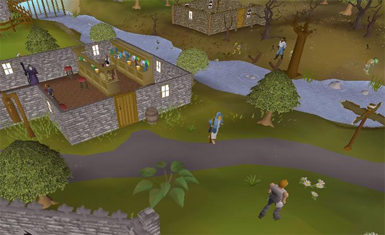 Lumbridge River Lum screenshot from OSRS