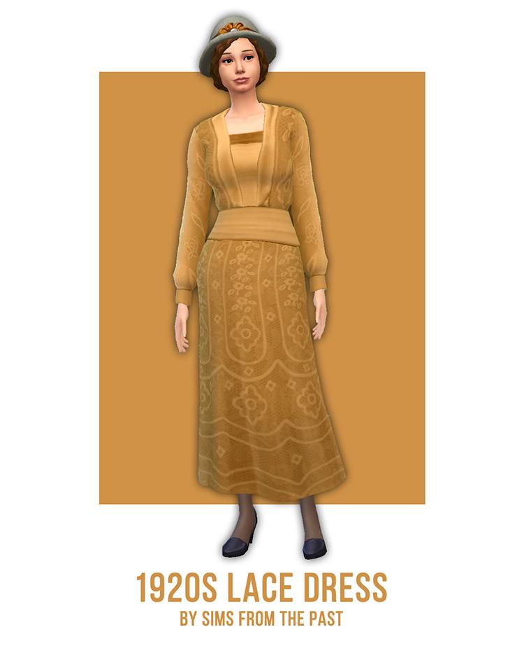 1920s Lace Dress / TS4 CC