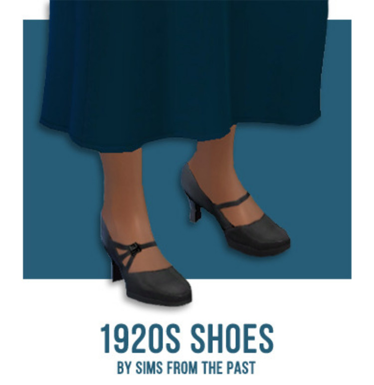 1920s Shoes CC for The Sims 4