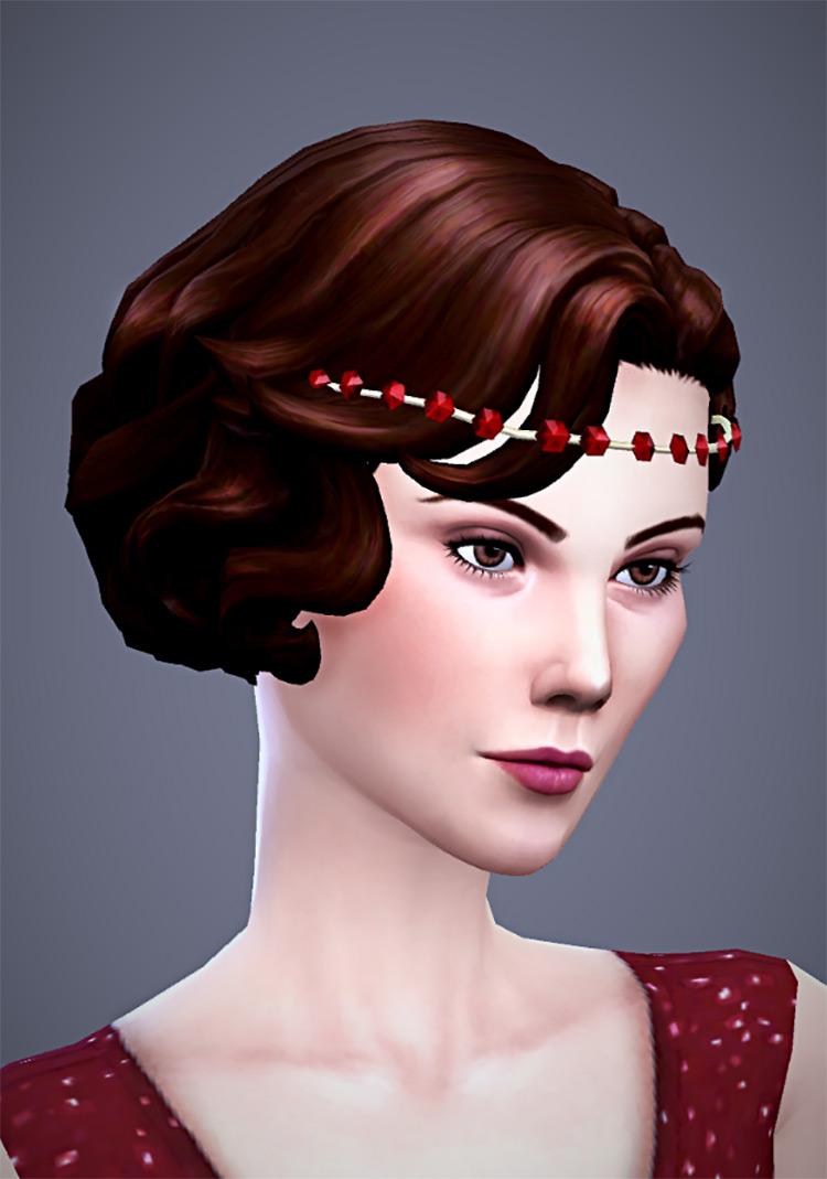 Adaline Headband for The Sims 4