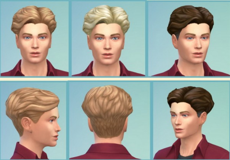 Gillian Hairstyle for The Sims 4