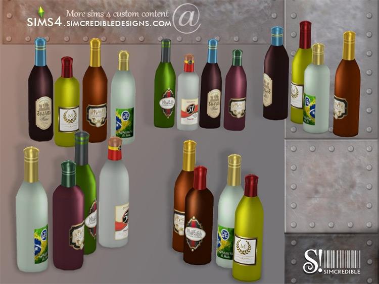 Industrial Bar Drink Bottles / TS4 CC