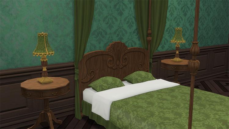 Fancy Antique Lamp / Sims 4 CC
