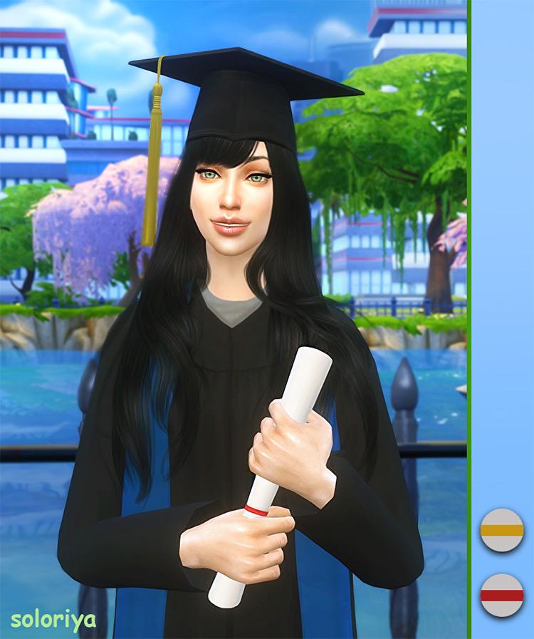 Graduation Mini Set Part 1 / Sims 4 CC