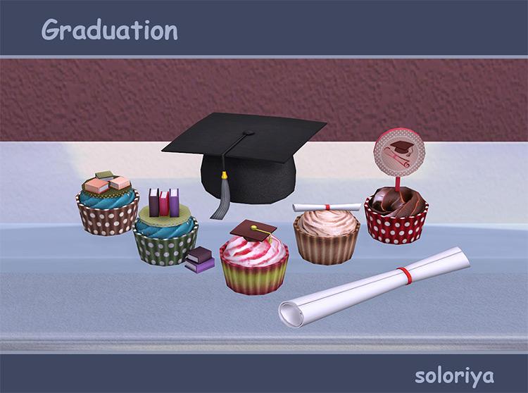 Graduation Mini Set Part 2 / TS4 CC
