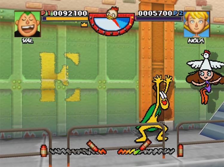 Rakugakids N64 game screenshot