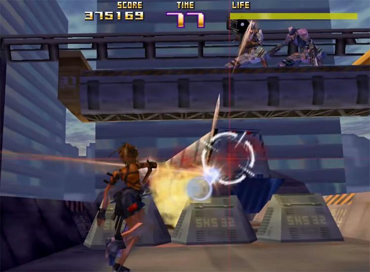Sin and Punishment N64 gameplay screenshot