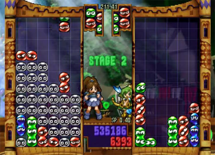 Puyo Puyo~n Party N64 gameplay