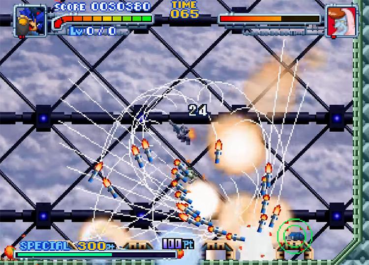 Bakuretsu Muteki Bangai-O N64 game