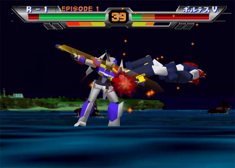 Super Robot Spirits JP N64 gameplay
