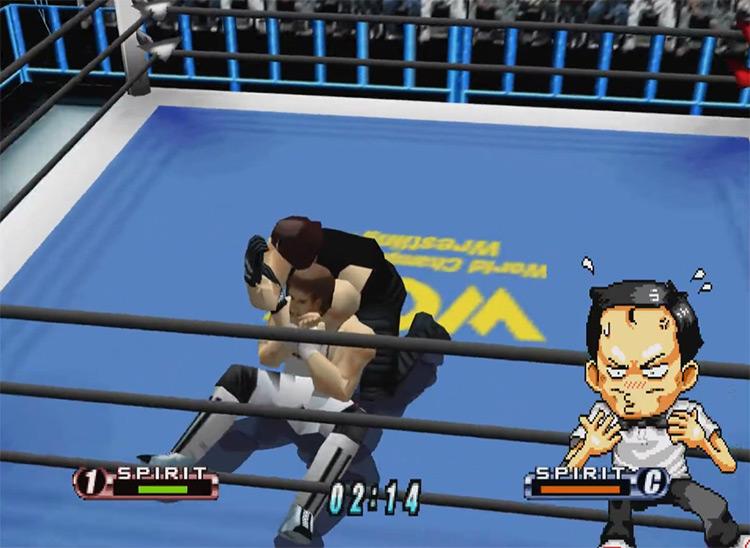 Virtual Pro Wrestling 64 Japan-Only N64 game