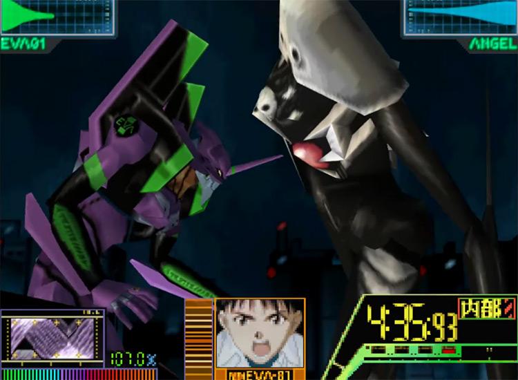 Neon Genesis Evangelion N64 gameplay
