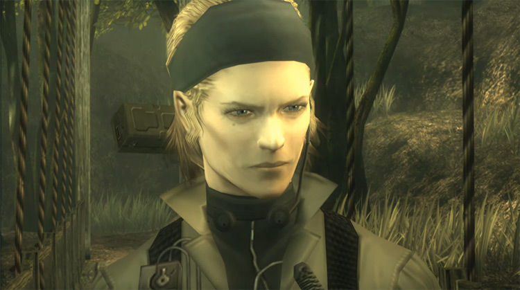The Boss in Metal Gear Solid 3: Snake Eater