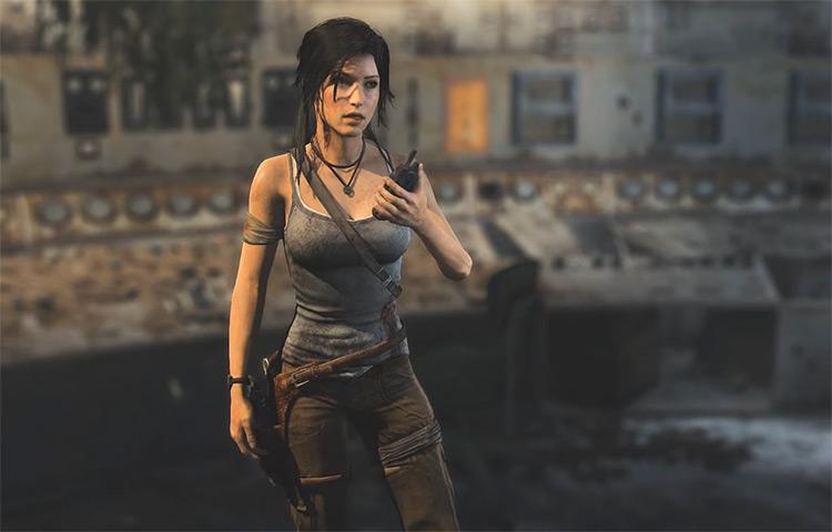 Lara Croft in Tomb Raider Definitive Edition
