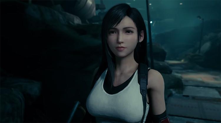 Tifa Lockhart in Final Fantasy 7 Remake