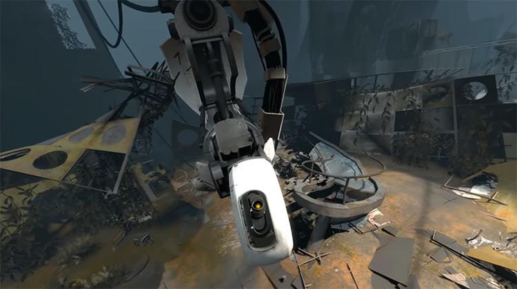 GLaDOS Portal (2007) screenshot