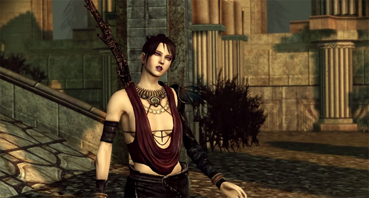 Morrigan in Dragon Age: Origins (2009)