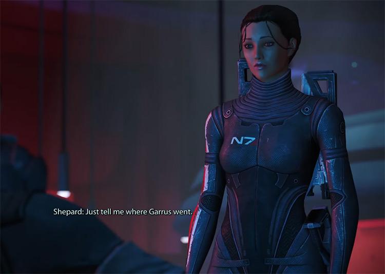 Commander Shepard Mass Effect (2007) game screenshot