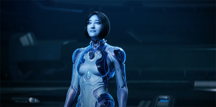 Cortana in Halo 5: Guardians