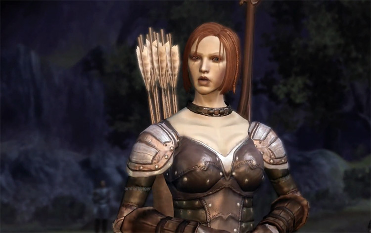 Leliana Dragon Age Origins (2009) screenshot