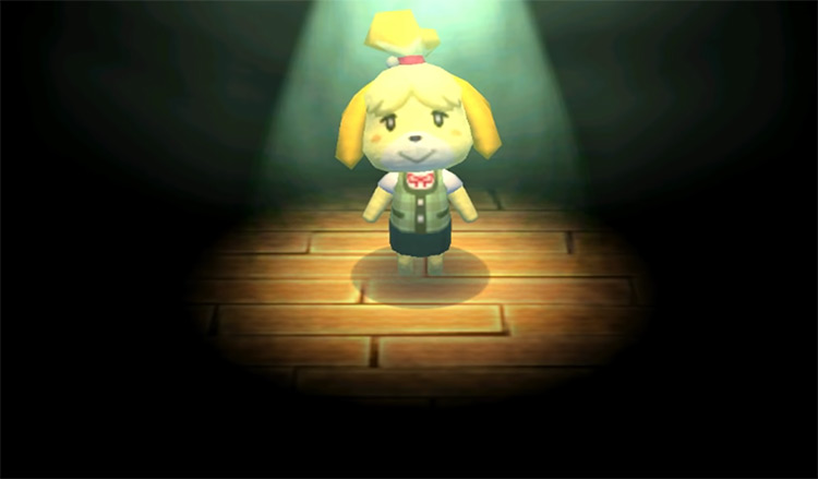 Isabelle in Animal Crossing: New Leaf (2012)