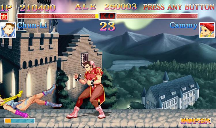 Chun-Li from Ultra Street Fighter II: The Final Challengers