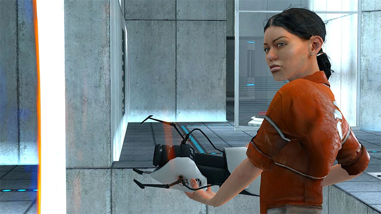 Chell Portal (2007) gameplay