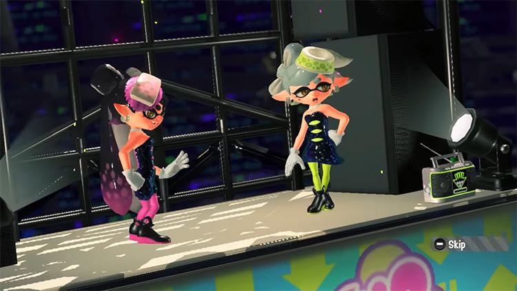 Squid Sisters Splatoon (2015) gameplay