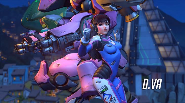 D.Va Overwatch (2015) game screenshot