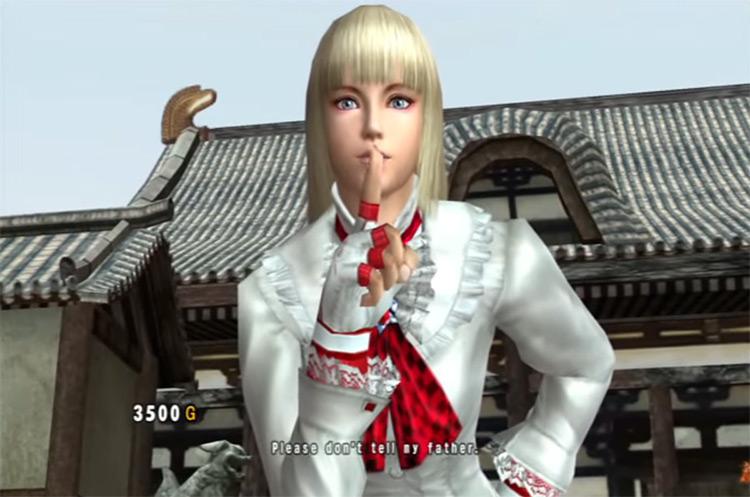 Lili Tekken 5: Dark Resurrection gameplay