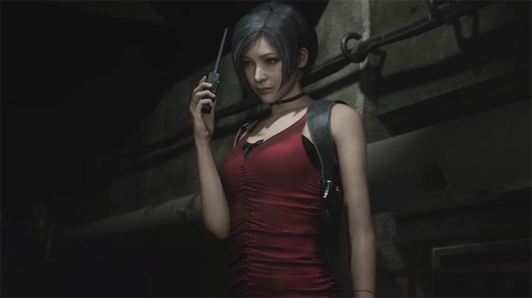 Ada Wong Resident Evil 2 Remake game screenshot